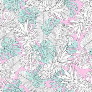 line tropics pink