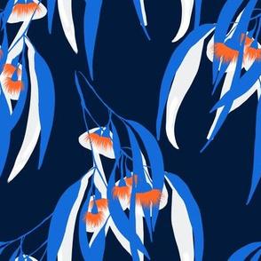 orange dark blue eucalyptus_repeat