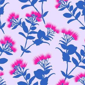 Pink and Purple simple lehuas