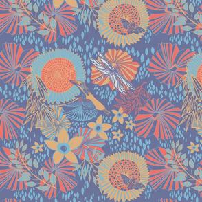 Kingfisher duché colorway