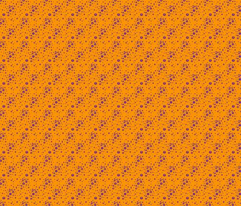 Cheddar Mauve Bubbles fabric by scarlettrose on Spoonflower - custom fabric