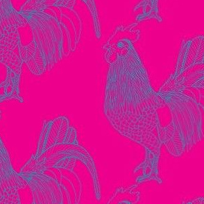 Disco Rooster