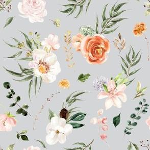 Whimsical Floral Garden // Iron