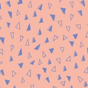 Tumbling-triangles-periwinkle-on-peach-01_shop_thumb