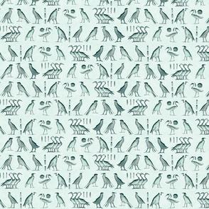 egypt_bird_hieroglyph_mint