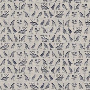 egypt_birds_hieroglyph_navy gray