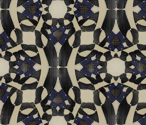 Farseek Mosaic (3) fabric by david_kent_collections on Spoonflower - custom fabric