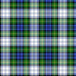 "Gordon dress tartan, modern colors, 3"""
