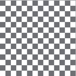 Gray Checkered
