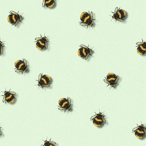 Just Bees- Widdle Bitty Bees-Mint- Kim Marshall