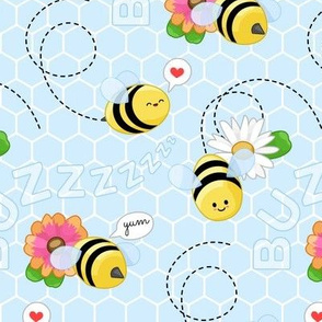 Happy Little Pollinators