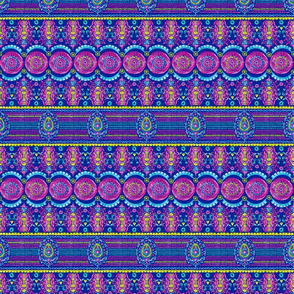 Maximalist Jeweled Stripe