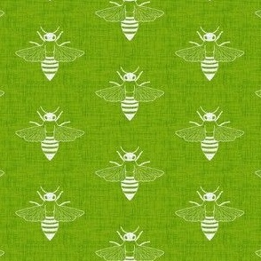 Bees - Chartreuse - Spring Green