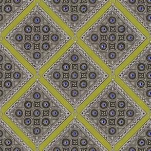 Amulet - Diagonal - Citron