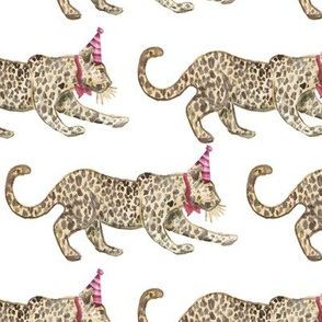Party Leopards red/tan