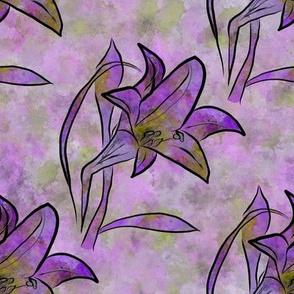 Lily Splash Pink