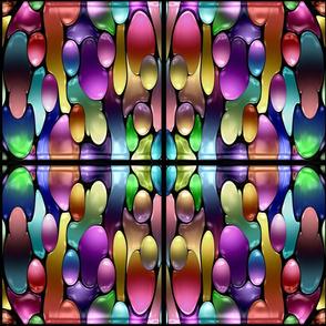 Abstract Rainbow Drops