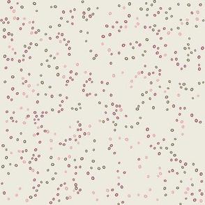Scatter Dot | Alabaster and Pinks