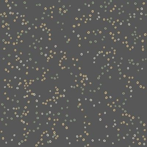 Scatter Dot | Sage on Charcoal