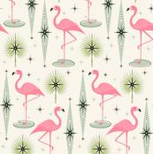 Atomic Flamingo Oasis - Horizontal
