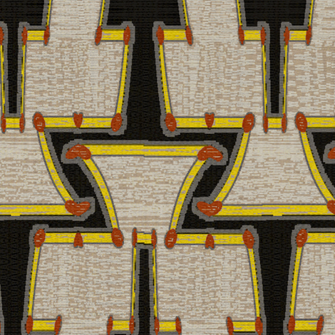 Tikal fabric by david_kent_collections on Spoonflower - custom fabric
