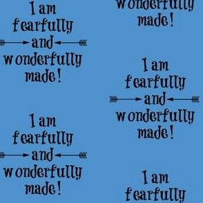 Fearfully and Wonderfully Made Blue