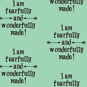 Fearfully and Wonderfully Made Mint