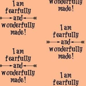 Fearfully and Wonderfully Made Peach