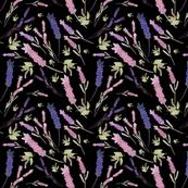 Lavender Sprays (black)