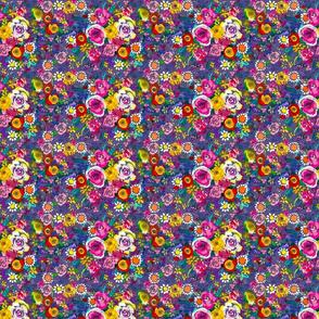 Les Fleurs // Ultraviolet (Small Size)