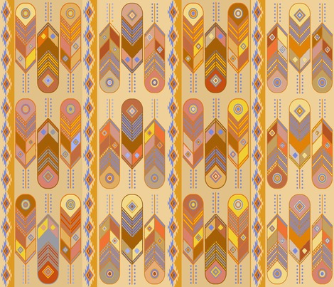 Rspoonflower_-_feathers_group3_colorsfinal21x18x150designchallenge_contest244276preview
