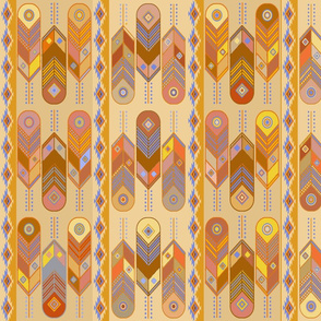Southwest Contemporary Feathers - Design Challenge