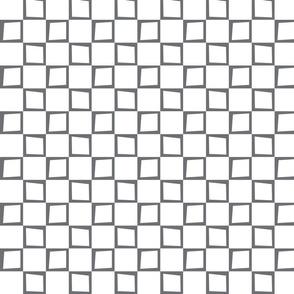 Wacky Gray and White Boxes