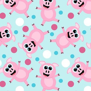 Cute Cartoon Pig Pattern