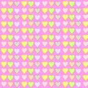 macaroon pastel hearts