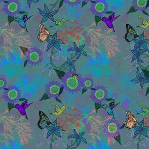 Ultraviolet  pollinators blue