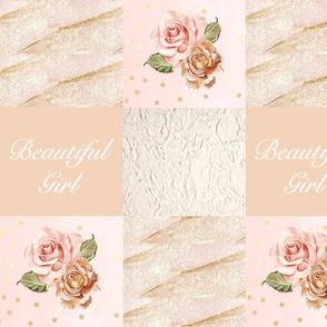 Rose golds beautiful girl