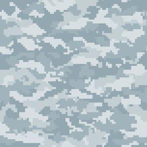 Digital Camouflage - Dusty Blue Camouflage - LAD19