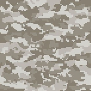 Digital Camouflage - Taupe Camouflage - LAD19