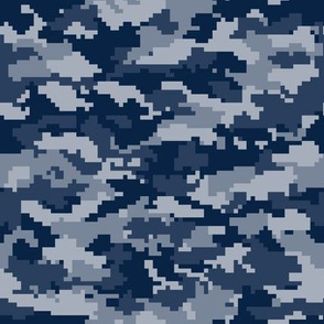Digital Camouflage - Navy Camouflage - LAD19