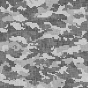 Digital Camouflage - Grey Camouflage 2 - LAD19