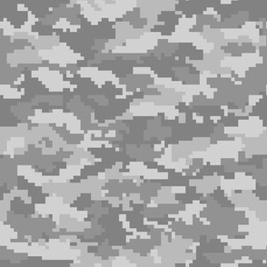 Digital Camouflage - Grey Camouflage - LAD19