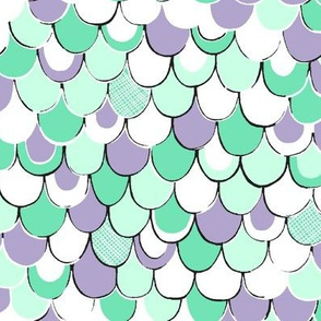 Scale Away (Mint/Lavender) 8""