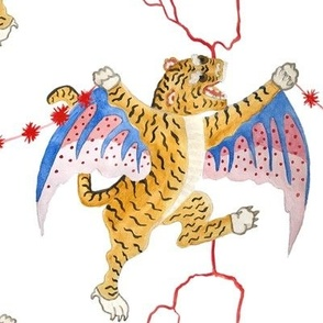 Double Flying Tiger Bursts