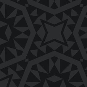Moroccan Tiles - Charcoal