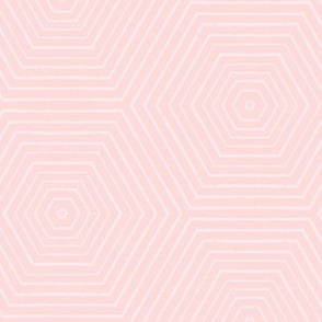 Concentric Hexagons M+M Sorbet by Friztin