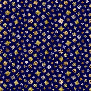 Nautical way finding stars
