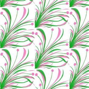 Maxi Pink Pom Pom Floral