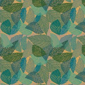 tropical leaf geometric