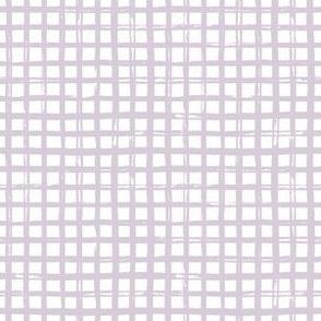 """6"""" Lilac Plaid"""
